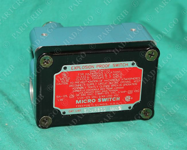 Micro Switch Ex Ar830 Explosion Proof Switch New Ebay
