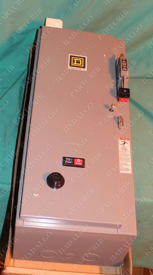 Square D 8538sdg12v80af4h21tx11 Ac Combination Motor