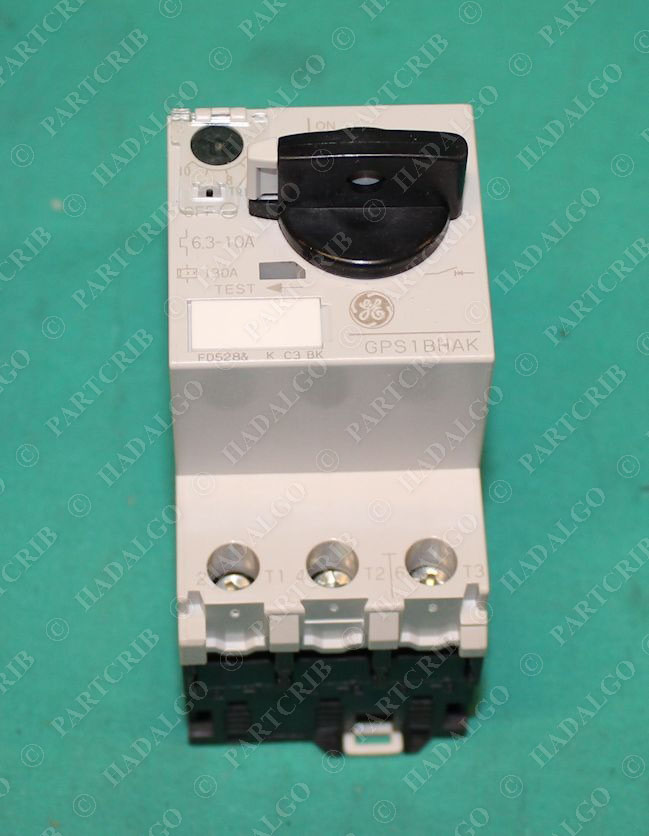 ge gps1bhak manual motor starter overload protector 6 3