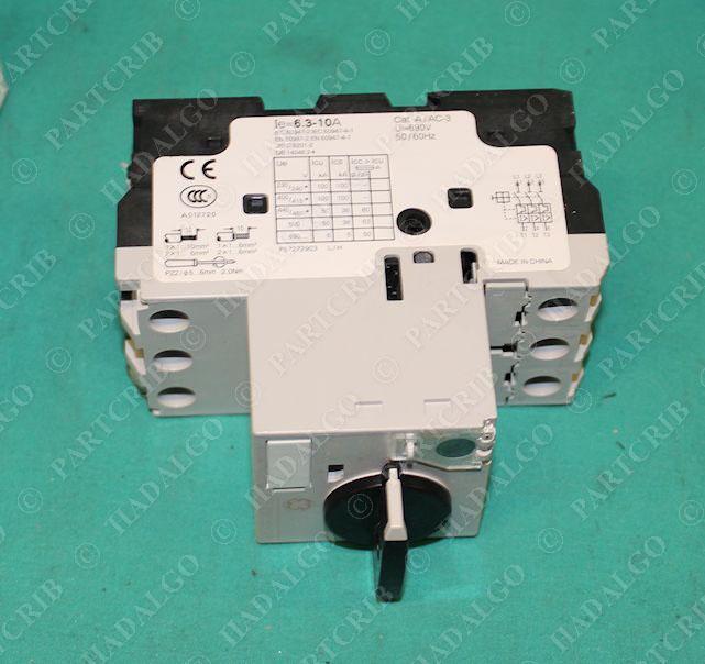 Ge gps1bhak manual motor starter overload protector 6 3 for Ge manual motor starter