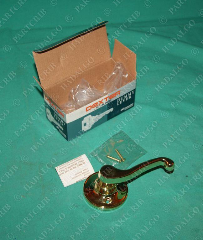 Dexter Schlage J170 Las 605 Rh Dummy Lock Brass Door Knob