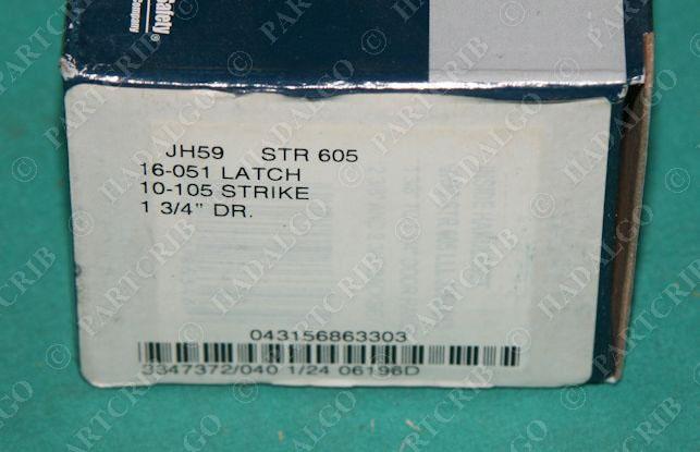 Dexter Schlage Jh59 Str 605 Interior Handleset Bright