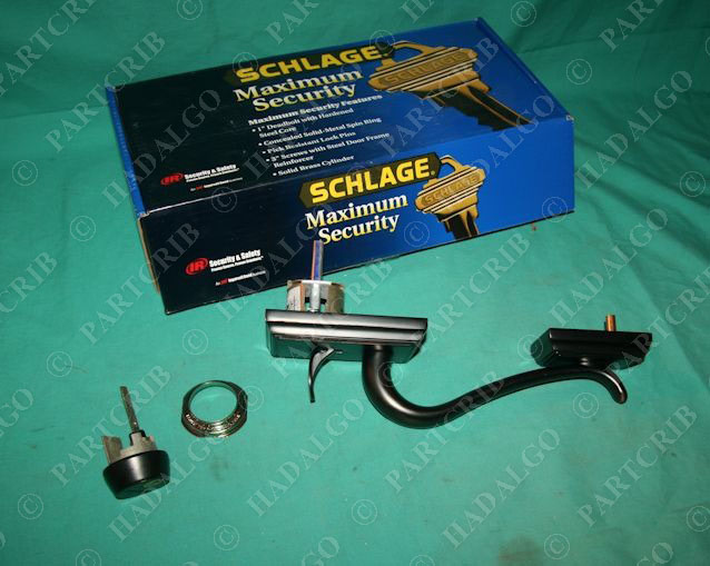 Schlage F358 Add 716 Exterior Outside Door Hande Handleset