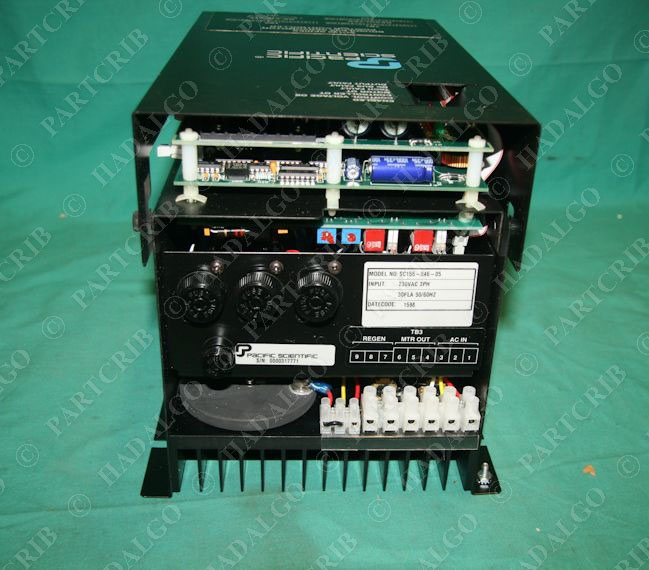 Pacific Scientific Sc155 046 05 Brushless Servo Motor Position Controller Drive Ebay