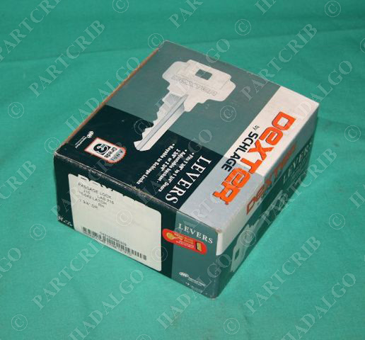 Dexter Schlage J10 Las716 Passage Lock 16 042 Rh Aged