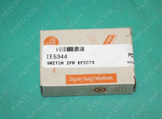 IFM, IE5344, IEBC003BASKG/0.3M/AS, Efector Inductive Proximity Sensor Switch NEW