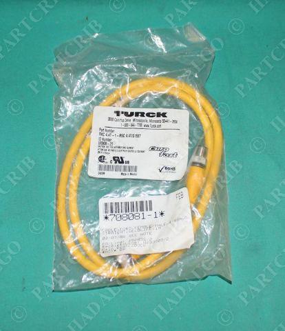 Cordset Cable Extension Cable Turck RSS RSS  841-4M U7901-4