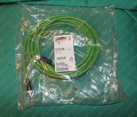 Phoenix Contact, SAC-5P-MSB/5 0-900/FSB SCO, 15 17 99 0, Cable Cordset  Extension 5 Pin 5p Male Female
