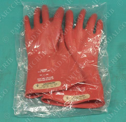 Salisbury Lineman's Gloves GK0011R/9 ASTM size 9 New