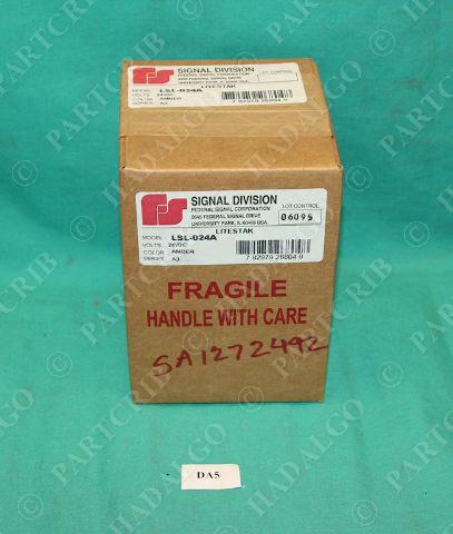 federal signal lsl 024a stack light module amber 24vdc. Black Bedroom Furniture Sets. Home Design Ideas