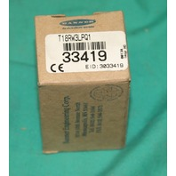 Banner, T18RW3LPQ1, 33419, Photoelectric Sensor Switch Proximity NEW