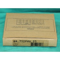 Banner BM.752PMA.25 17246 Fiber Optic Cable Wire Sensor NEW