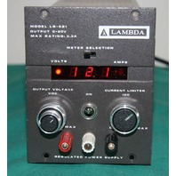 Lambda LG-521 digital regulated power supply 0-20vdc 3a