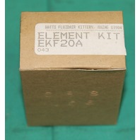 Parker Watts Fluidair Element Kit EKF20VA Pneumatic  Air Filter 5 Micron Regulator NEW