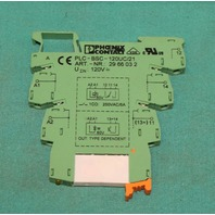 Phoenix Contact PLC-BSC-120UC/21 Terminal Block 2966032 NEW