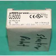 Efector IFM 0J5000 0JB OJB OJ5000 FPKG/F0/AS Sensor