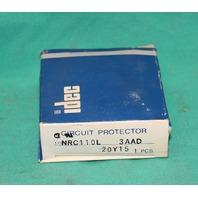 Idec NRC 110L Circuit Breaker 65V NRC110L 3a 3 amp NEW