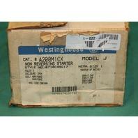 Westinghouse A200M1CX Starter Contactor size 1 model J