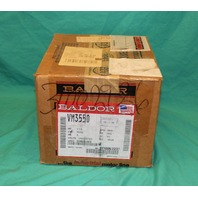 Baldor VM3550 Industrial Motor 1.5HP 3PH 3450RPM 230/460V NEW
