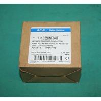 Cutler-Hammer, C25DNF340T, Eaton Contactor Starter 3P 24VAC Coil NEW