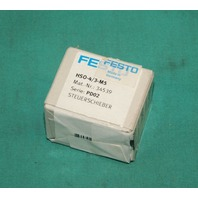 Festo, HSO-4/3-M5, 34539 Hand Operated Valve NEW
