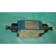 Rexroth, Z2FS 6-2-42/2QV, Bosch Hydraulic Valve Flow Regulator Throttle Check