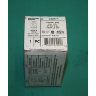 Pass & Seymour, L520-P, L520P, Turnlok Plug 20A 125V 2P 3W Male NEW