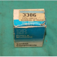 Potter Brumfield, KRPA-14AG-24, Relay 24 V Coil NEW
