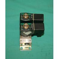 CKD, GAB312-4-2-E2E, Solenoid Valve Manifold Double Control 110v NEW