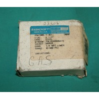 "Ashcroft, 25W1005 H 02L, Pressure Gauge 1/4"" NPT Lower 0-300psi NEW"