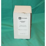 Greengate PPS-5 Outdoor Contact Input Photosensor LCS-624D 24 vdc 10amp 10a NEW