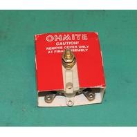Ohmite RKS100 Rheostat Wirewound 100ohm 100w 100 watt ohm  Potentiometer NEW