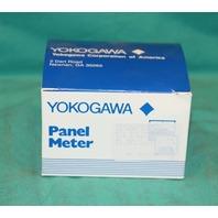 Yokogawa 251301DRDR8OGF DC Amp Center Panel Meter 251301DRDR80GF DC Volts 0-600v