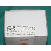 Efector PN4222 PN-SBN14-HFBOW Pressure Sensor NEW