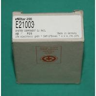 Efector IFM E21003 OJ rail mount sensor lens mounting