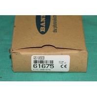 Banner 61675 QS186EB Photoelectric Sensor QS18 NEW
