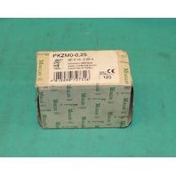 Klockner Moeller PKZM0-0.25 Manual Motor Starter 0.16-0.25A Overload NEW