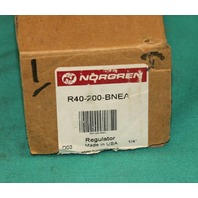 Norgren R40-200-BNEA Pressure Regulator 450psi NEW