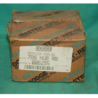Dodge 006295 Grid-Lign Coupling 7DG HUB RB NEW