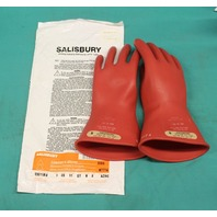 Salisbury Lineman's Gloves E0011R/8 AZMC size 8 New