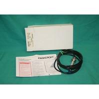 Ashcroft ASH-K1-7-M02-42-P7 Pressure Transducer Sensor 30psig 1VA-28690-013 NEW