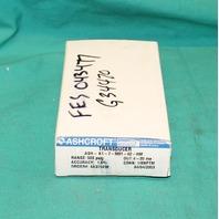 Ashcroft, ASH-K1-7-M01-42-HM, Transducer Pressure Sensor 500psig  4-20ma NEW