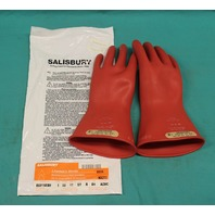 Salisbury Lineman's Gloves E0011R/8H AZMC size 8H New