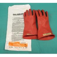 Salisbury Lineman's Gloves E0011R/9H AZMC size 9H New