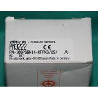 Efector, PN3222, IFM 100PSBN14-KFPKG pressure sensor NEW