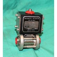 "Gemini Valve A512 CW-C Pneumatic Actuator 0.5 89 6RTV6 Stainless Ball 1/2"" ball"