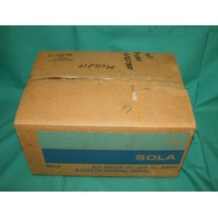 Sola 009-07204-01E0-61 Power Supply 9-7205
