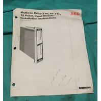 Gould Modicon, AS-B829-116, Input Module 5VTTL 16PT Fast Input NEW