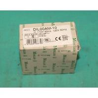 Moeller DIL00AM-10 Contactor 110/120V 50/60Hz NEW