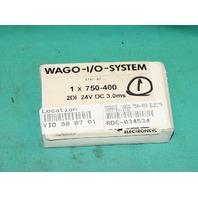 Wago I/O Systems 750-400 2DI 24Vdc Input Module